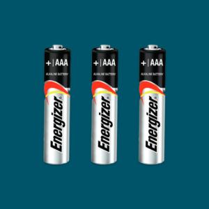 Batterier til ZiboCup | 3 stk AAA
